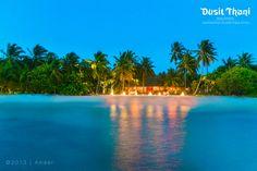 Dinner by the Sea @Dusit Thani Maldives #DusitThaniMV #Maldives #MV