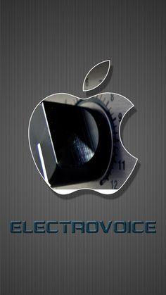 Electro voice iPhone wallpaper