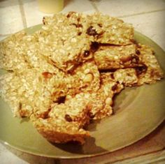Juice pulp granola bars.  I always feel guilty throwing the pulp out.  Excited to try.