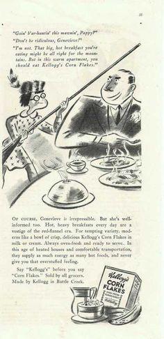Kelloggs Corn Flakes Cartoon (1938)