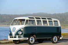 1963-67 Volkswagen T-1 Deluxe Samba Bus van classic  f