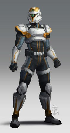 sci fi soldier concept art - Hledat Googlem