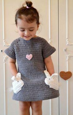 Zuckersüßes Kleid für Anfänger zum Nachhäkeln - Anleitung via Makerist.de