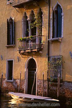 Venice Canal balcony