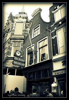 The former home of Corrie ten Boom  Haarlem, Holland