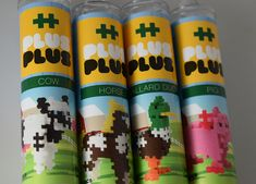 Plus Plus Mini Maker Tubes Giveaway Crafts For Kids To Make, How To Make, Educational Activities For Kids, Mom Blogs, Just Love, Giveaways, Cow, Tube, Mini