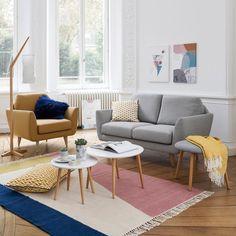 Le tapis tissé plat kilim en laine, Ankara. Inspiré des kilims traditionnels, tissage main. Un superbe motif et une finition frangée nouée. Structurant impeccablement l'espace, ce tapis est synonyme de confort et de style.Caractéristiques du tapis tissé plat kilim en laine, Ankara :80% laine, 20% coton. 1300 g/m².Tissé plat, tissage main.Finition frangée.Retrouvez la collection tapis sur laredoute.beDimensions du tapis tissé plat kilim en laine, Ankara :Taille 1 : 120 x 170 cmTaille ...