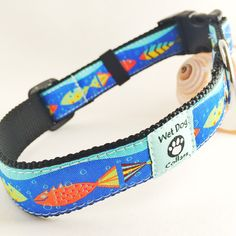 Key West Fish Dog Collar