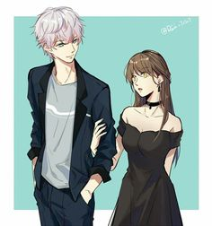Find images and videos about mystic messenger, unknown and saeran choi on We Heart It - the app to get lost in what you love. Mystic Messenger Unknown, Mystic Messenger Fanart, Mystic Messenger Memes, Anime Love Couple, Cute Anime Couples, Jumin X Mc, Photo Manga, Chibi, Saeran Choi