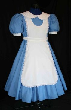 Alice in Wonderland dress for adult... @Lauren Davison Appel Saw this and thought of your recent posts!