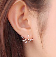 Barato Lz 2016 nova moda jóias CZ diamante cristal folhas de ouro / prata banhado brincos para as mulheres E408 E409, Compro Qualidade Brinco de brilhante diretamente de fornecedores da China: LZ  2016 New Fashion Sapphire-Jewelry Cute Red Cherry Gold Plated Earrings for Women E74USD 0.59/pairLZ  2016 New Vintag