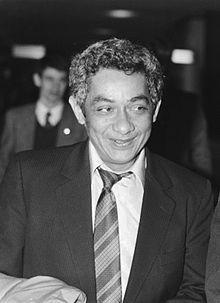 Henk Chin A Sen, de tweede president van Suriname (1980-1982).