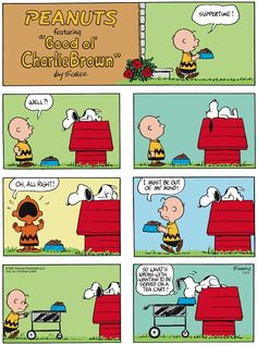 Nothing's too good for the dog. Peanuts for 7/27/2014 | Peanuts | Comics | ArcaMax Publishing