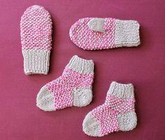 babysockor mönster gratis