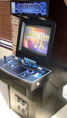 My Custom Built MAME Arcade Cabinet!