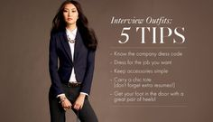 How to Dress for an Interview and Look Good   Rachael Phillips ...