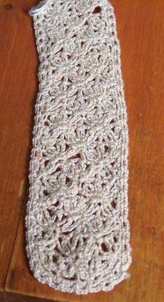 Damascus Bookmark Crochet Pattern