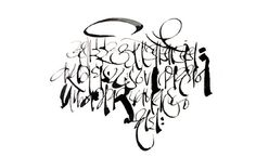 Today, we bring you Achyut Palav 's Calligraphy art. Wikipedia definition of calligraphy says its a from of visual art often called 'the . Marathi Calligraphy, Calligraphy Art, Brush Lettering, Hand Lettering, Satya Paul, Photo Galleries, Typography, Gallery, Artwork