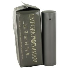 EMPORIO ARMANI by Giorgio Armani EAU DE TOILETTE Spray 3.4 oz for Men