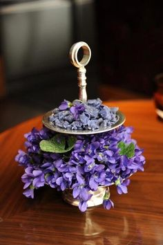 Ritz Carlton Vienna Candied Violets - a 19th century tradition