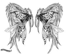 Wings Tattoo Design – Best Wings Tattoo Design Photo Collaboration ...