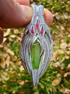 ©Michael Boyer #wirewrap #jewelry #wirewrapjewelry