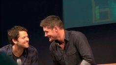Adorable gif. These guys are so adorable and awesome and lovely and - and - and I can't take it. Too many feels!