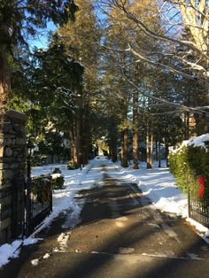 The long driveway off Rochambeau on the East Side of providence