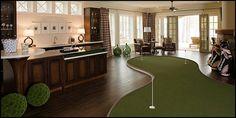 golf decor bedroom | Decorating theme bedrooms - Maries Manor: man cave decorating ideas ...