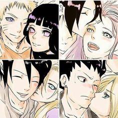 Naruto hinata  sasuke sakura  ino sai  shikamaru temari