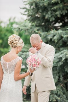 Roses and Baby's Breath Romantic Wedding | Desiree Hartsock