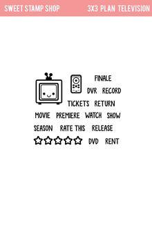 "Sweet Stamp Shop | ""Plan Television"" Set Released 2015"