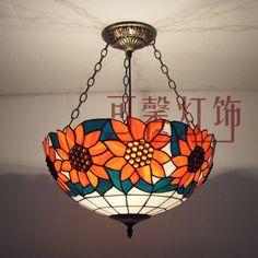 Aliexpress.com : Buy Lighting lamps fashion tiffany pendant light living room…
