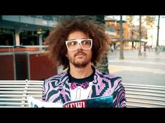 """#Azarenka makes a cameo in #Redfoo's new music video """"Let's Get Ridiculous"""""""