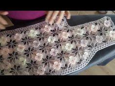 Motifli yeleğin birleştirmeden önceki ütüleme detayları - YouTube Crochet Baby Dress Pattern, Form Crochet, Crochet Motif, Knitting Videos, Crochet Videos, Crochet Stitches Patterns, Crochet Designs, Crochet Cowel, Crochet Clothes