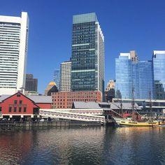 Today's weather forecast: perfect. #Boston #bostonteapartyships… #BostonTeaPartyShipsMuseum #Boston #MarketDistrict #Boston