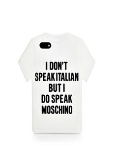 Moschino - T-shirt iPhone 5/5s Case