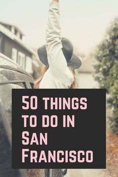 You need an AWESOME list of things to do in San Francisco. My top 50 things you should do when visiting San Francisco! Travel Advice, Travel Guides, Travel Tips, Travel Articles, Budget Travel, Travel Couple, Family Travel, Places To Travel, Travel Destinations