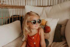 Sluneční brýle GRECH & CO. - Fern– Lavly Kids Sunglasses, Little Bow, Face Framing, Ferns, Baby Shop, Sustainability, Sunnies, Product Launch, Stylish