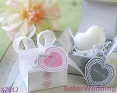 Mini heart baby shower soap gift set XZ012@https://twitter.com/BeterWedding         Your Unique Party Gifts by beterwedding  #babyshowerfavors #babygifts #birthdaygifts http://www.aliexpress.com/store/product/Love-Birds-Cookie-Cutters-32pcs-16box-WJ080-use-as-Bridal-shower-weddings-favours/512567_695555853.html