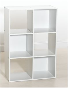 ClosetMaid 8694 6-Cube Organizer, White