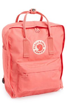This stylish and contemporary pink backpack is perfect for carrying all of the essentials.