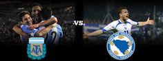 Jogo Argentina x Bósnia e Herzegovina pela Copa do Mundo Brasil 2014 Rodada 1 e a Domingo 15 de Junho de 2014 as 19:00 horas, horário local do Rio #copa2014