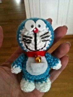 Doraemon amigurumi by anapeig.deviantart.com on @deviantART