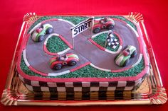 Art Cakes: Carrera de coches