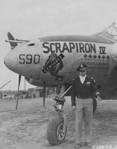 "P-38 Lightning - ""Scrapiron IV""."