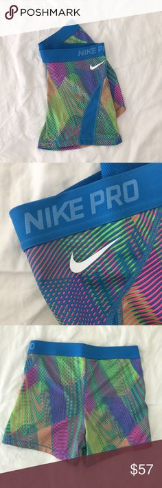 Nike Spandex Shorts new without tags great for raves  I'm a medium and they fit me great Nike Shorts