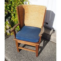 Superb Childs Oak Framed Orkney Chair - Antiques Atlas Outdoor Chairs, Outdoor Furniture, Outdoor Decor, Accent Chairs, Cushions, The Originals, Antiques, Children, Frame