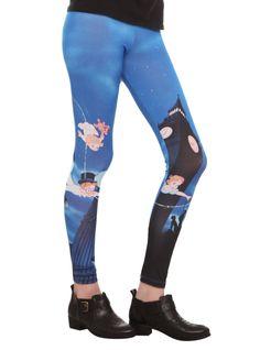 Disney Peter Pan Leggings   Hot Topic