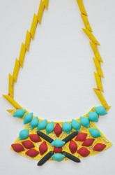 Second Grade Painting & Drawing Activities: Egyptian Necklace